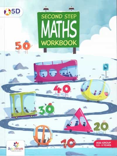 5D Series Second Step Maths Workbook