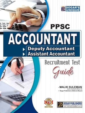 ACCOUNTANT RECRUITMENT TEST GUIDE PPSC By Dogars