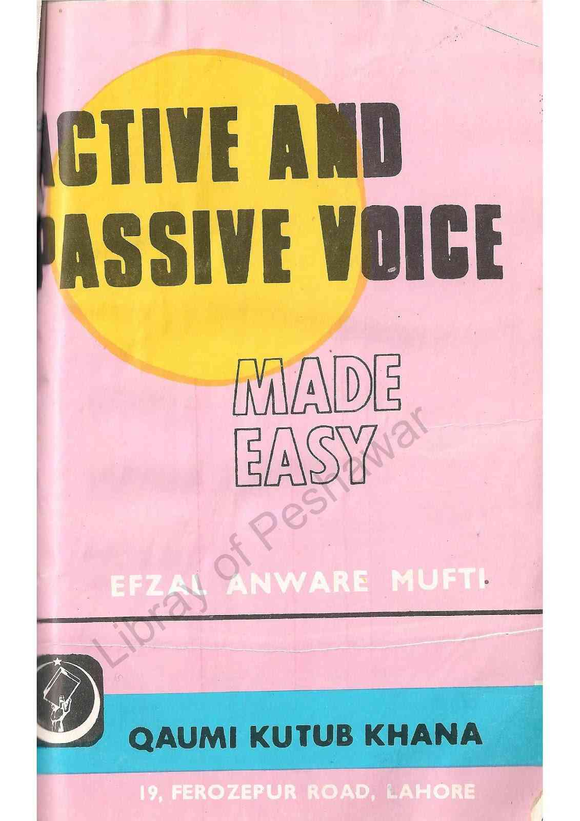 Active And Passive Voice Made Easy For Class 8