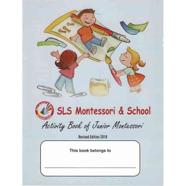 Activity Book For Junior Montessori  Revised Edition