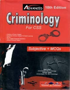 Advanced Criminology