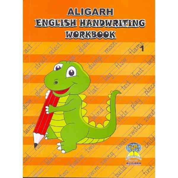 Aligarh English Handwriting Workbook 1 For Class 2