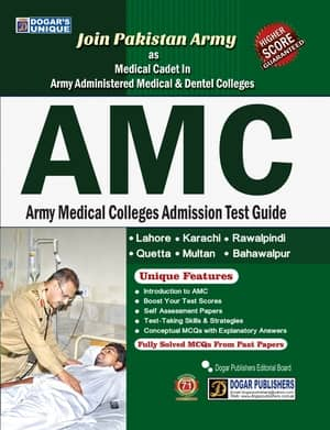 Army Medical Colleges Admission Test Guide By Dogars