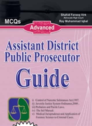 Assistant District Public Prosecutor Guide MCQS