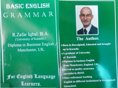 Basic English Grammar By Raja Zafar Iqbal