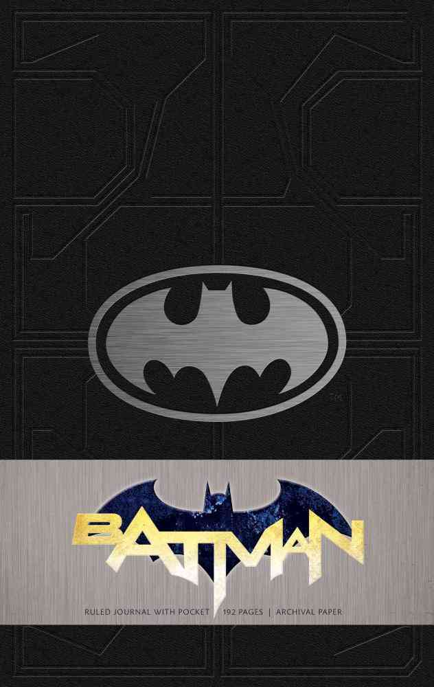 Batman Hardcover Ruled Journal : Insights Journals