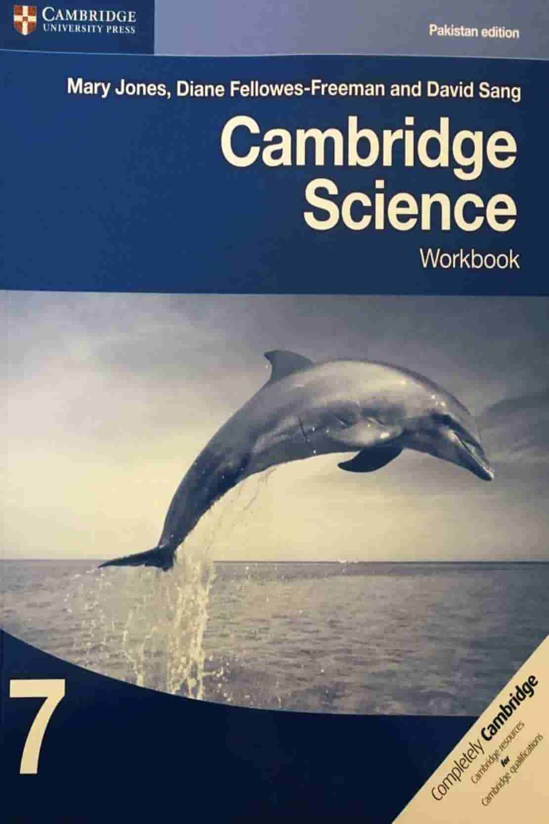 CAMBRIDGE SCIENCE WORKBOOK 7 PAKISTAN EDITION CLASS 6