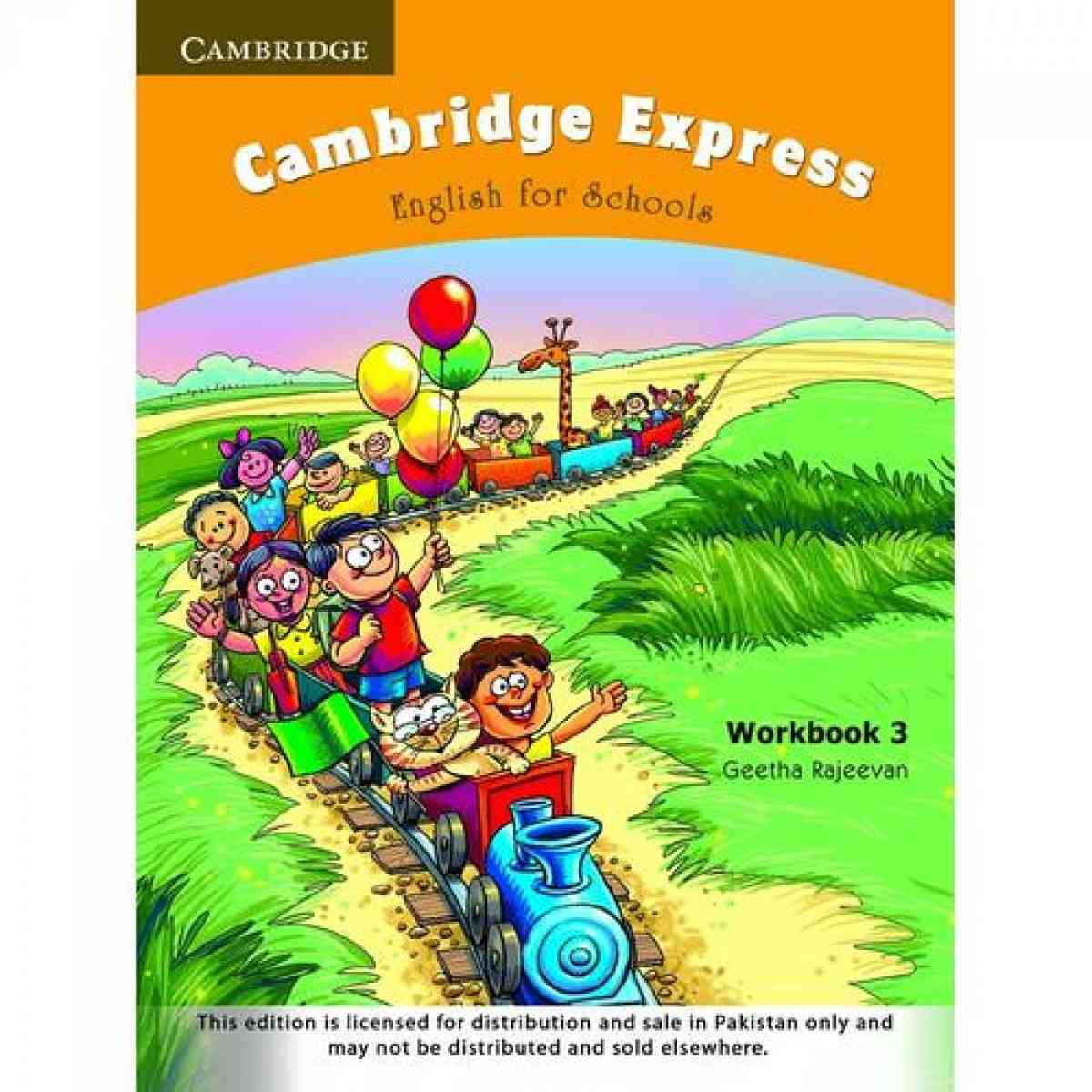 Cambridge Express: English For Schools Workbook 3