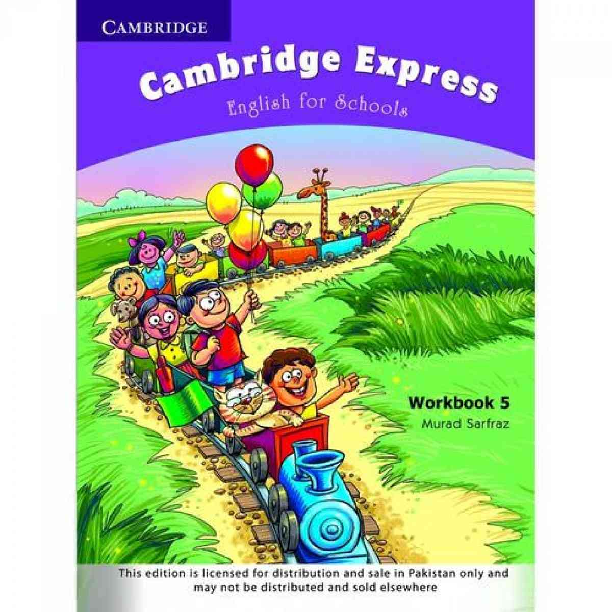Cambridge Express: English For Schools Workbook 5