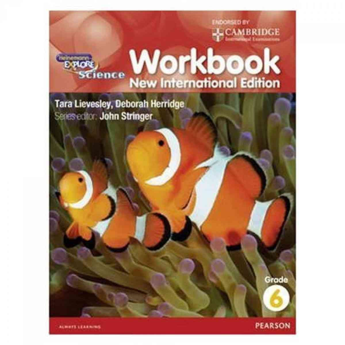 Cambridge Heinemann Explore Science Workbook 6