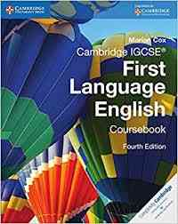 Cambridge IGCSE First Language English Course Book 4th Edition For Class 10