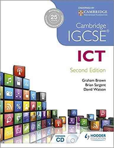Cambridge IGCSE ICT Second Edition For Class 8