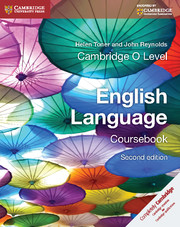 Cambridge O Level English Coursebook