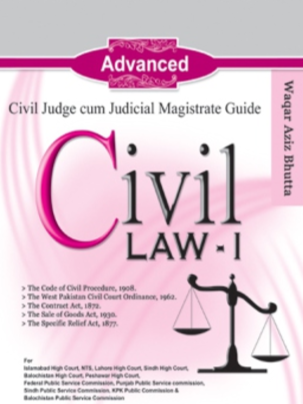Civil Law 1 By Waqar