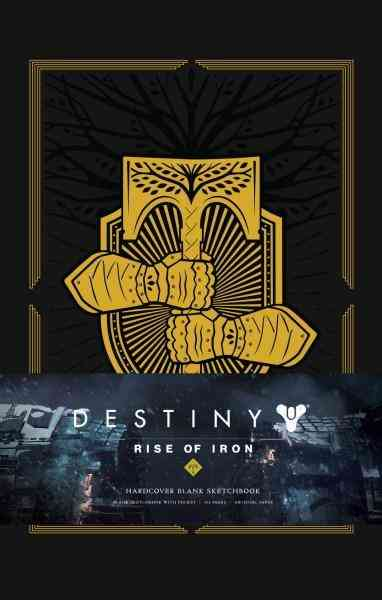 Destiny : Rise Of Iron : Blank Hardcover Sketchbook