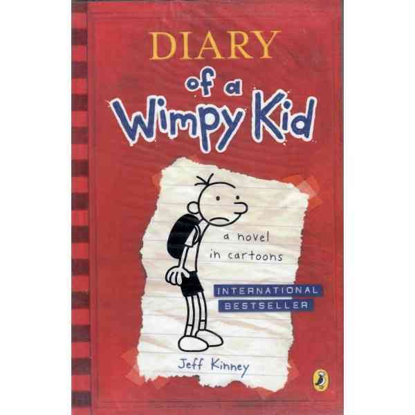 Diary Of A Wimpy Kid A Novel In Cartoons  Book 1
