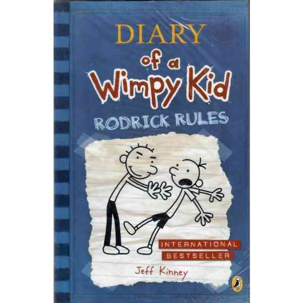 Diary Of A Wimpy Kid Rodrick Rules  Book 2