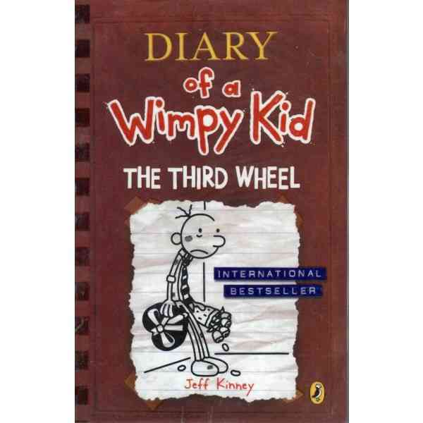 Diary Of A Wimpy Kid The Third Wheel  Book 7