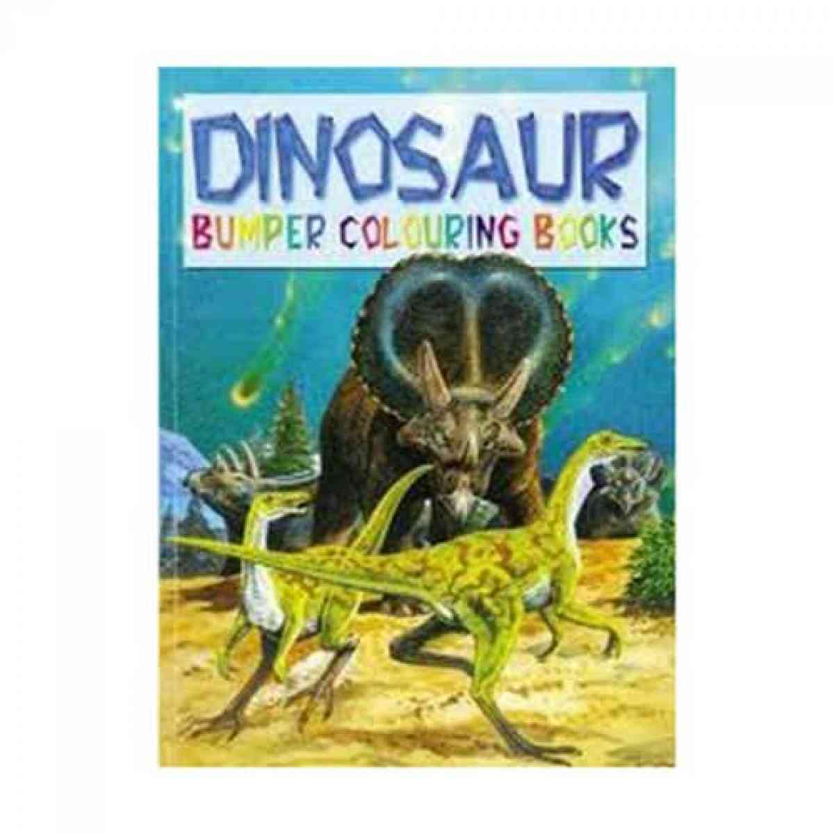 Dinosaurs Bumper Colouring Book 2 Titles