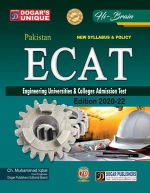 ECAT Engineering Universities And College Admission Test By Dogar