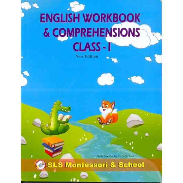 English Workbook and Comprehensions Class 1 New Edition