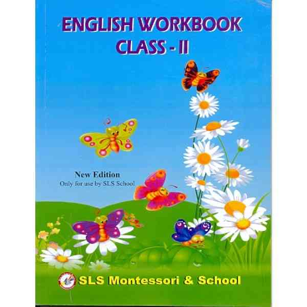 English Workbook and Comprehensions Class 2 New Edition
