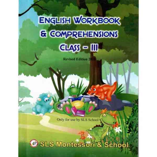 English Workbook and Comprehensions Class 3 Revised Edition 2018
