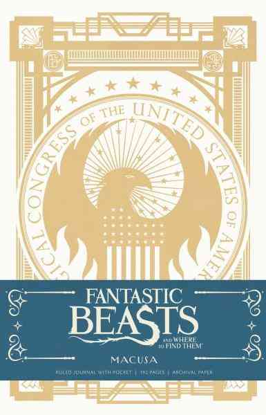 Fantastic Beasts And Where To Find Them : MACUSA Hardcover Ruled Journal