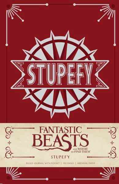 Fantastic Beasts And Where To Find Them : Stupefy Hardcover Ruled Journal