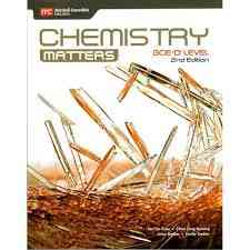 GCE O Level Chemistry Matters  2nd Edition  For Class 8 Cambridge