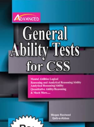 General Ability Test For CSS By Waqas Rasheed