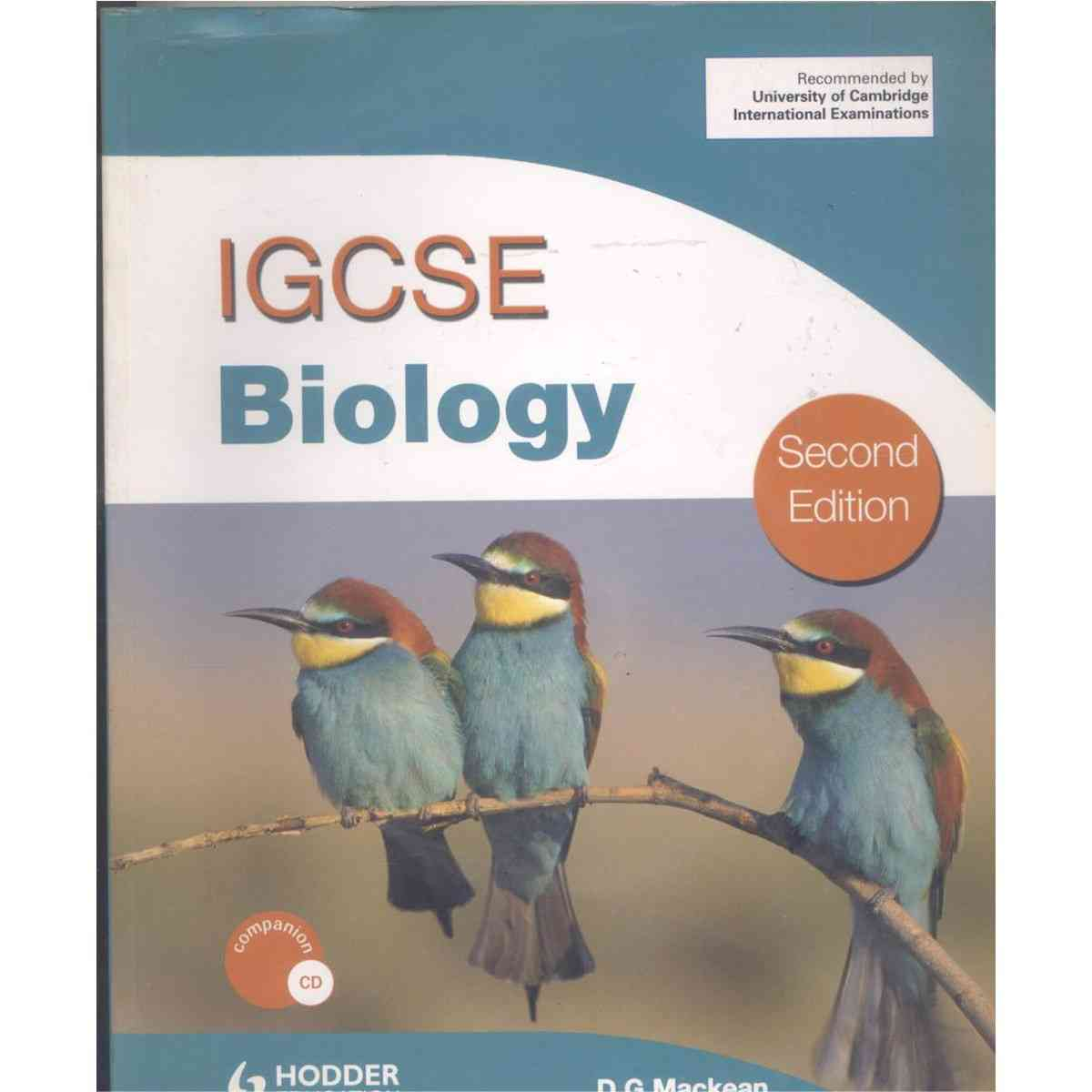 IGCES Biology 2nd Edition By D G Mackean With CD