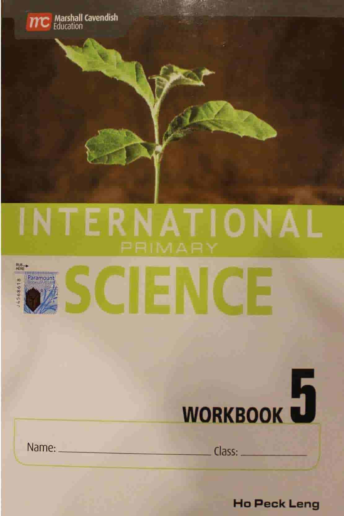 INTERNATIONAL PRIMARY SCIENCE WORKBOOK 5