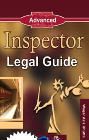 Inspector Legal Guide By Waqar Aziz Bhutta