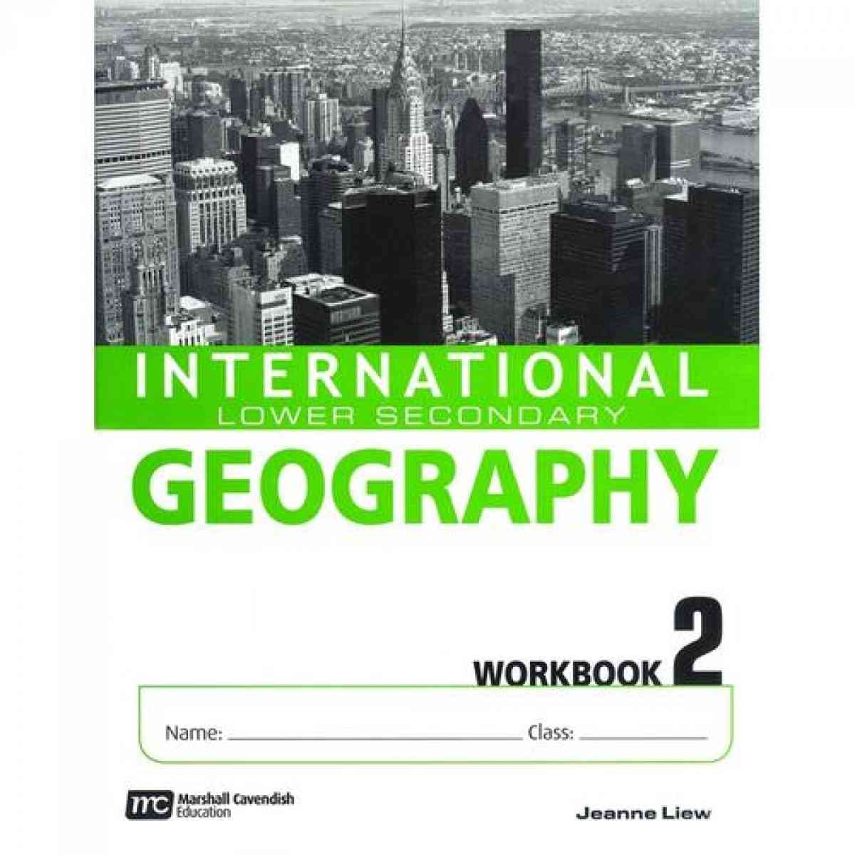 International Lower Secondary Geography Workbook 2