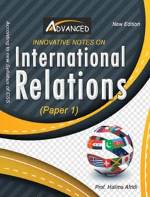 International Relations Paper 1 By Halima Afridi