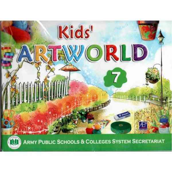 Kids Art World 7 Revised Edition 2018
