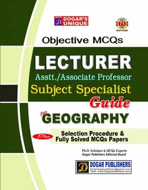LECTURER GEOGRAPHY Guide By Dogars