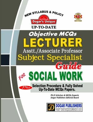 LECTURER SOCIAL WORK Guide By Dogars