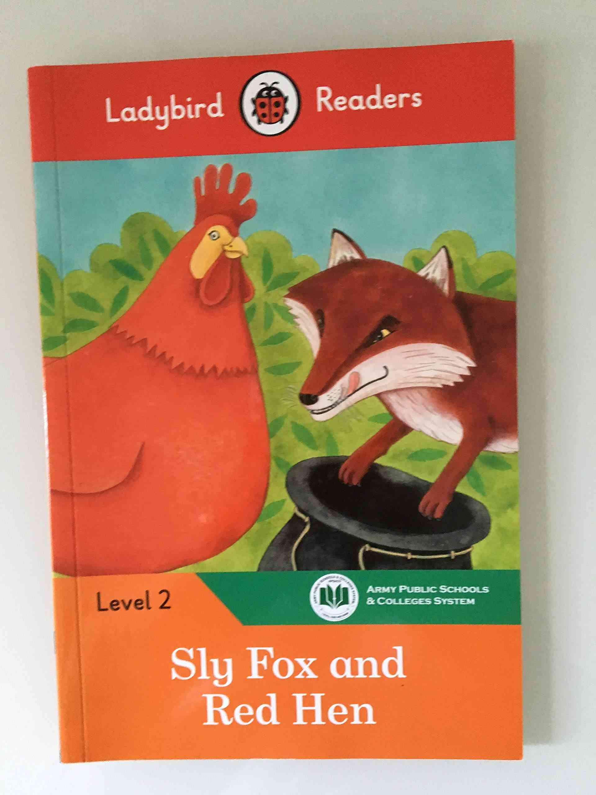 Ladybird Readers Level 2 Sly Fox And Red Hen 1st Term