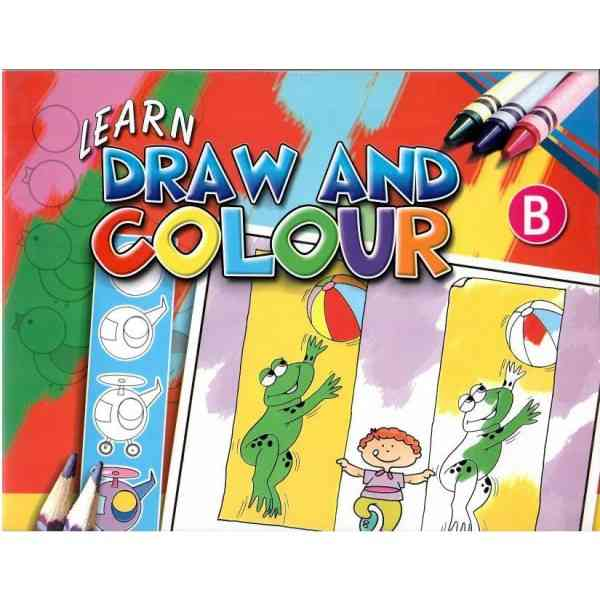 Learn Draw And Colour B