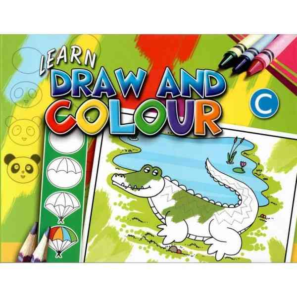 Learn Draw And Colour C