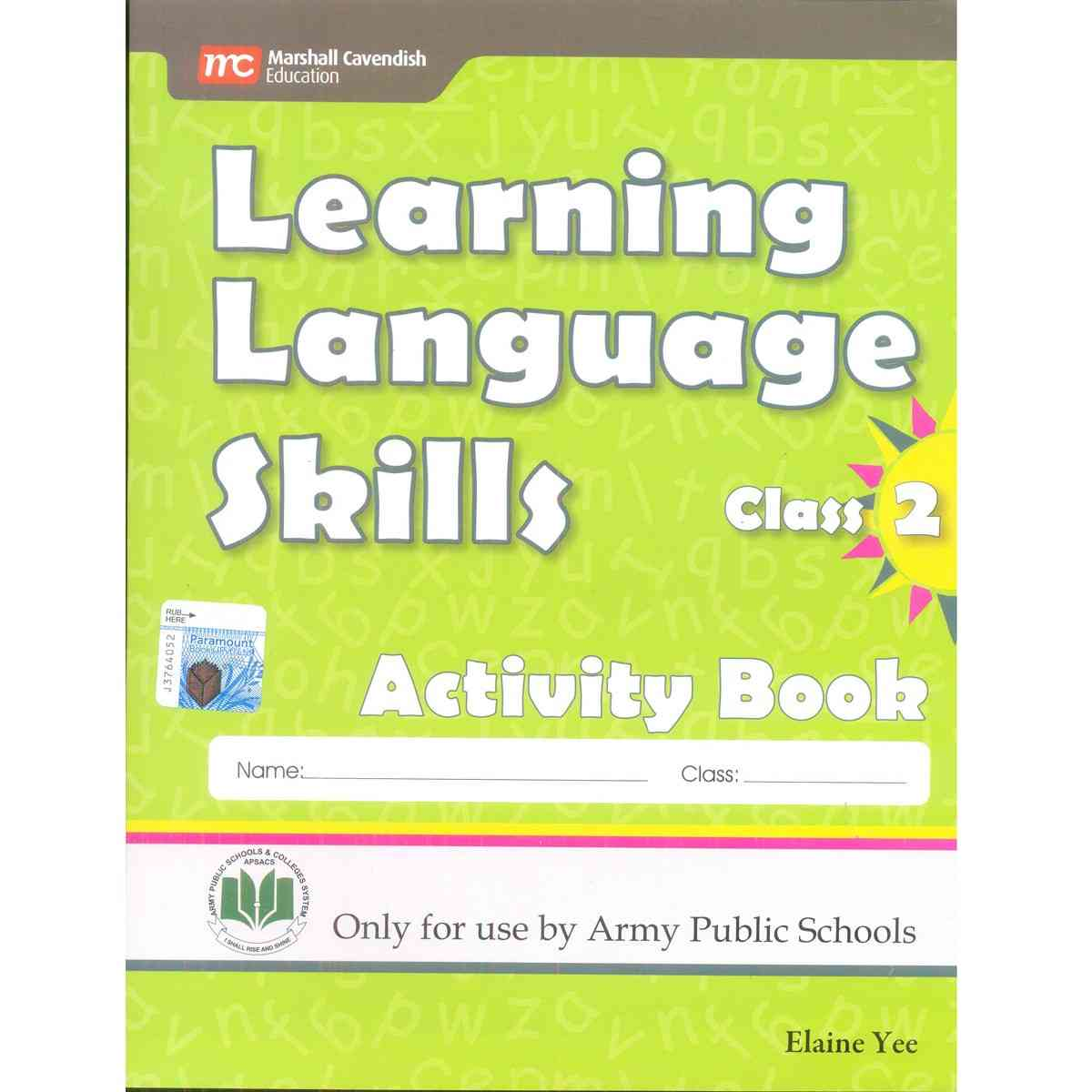 Learning Language Skills Activity Book 2