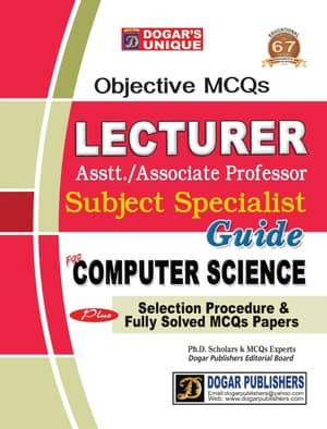 Lecturer Computer Science MCQS Guide By Dogars