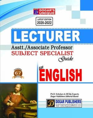 Lecturer English Assistant Professor Guide By Dogars