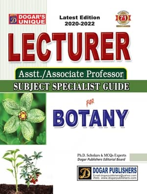 Lecturer Guide Of Botany By Dogars