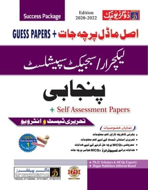 Lecturer Punjabi Guess Papers And Model Papers