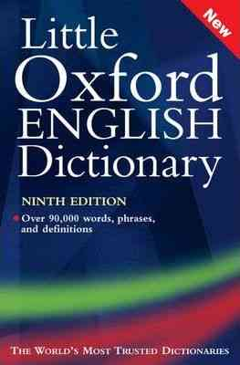 Little Oxford English Dictionary By Sara Hawker For Class 3