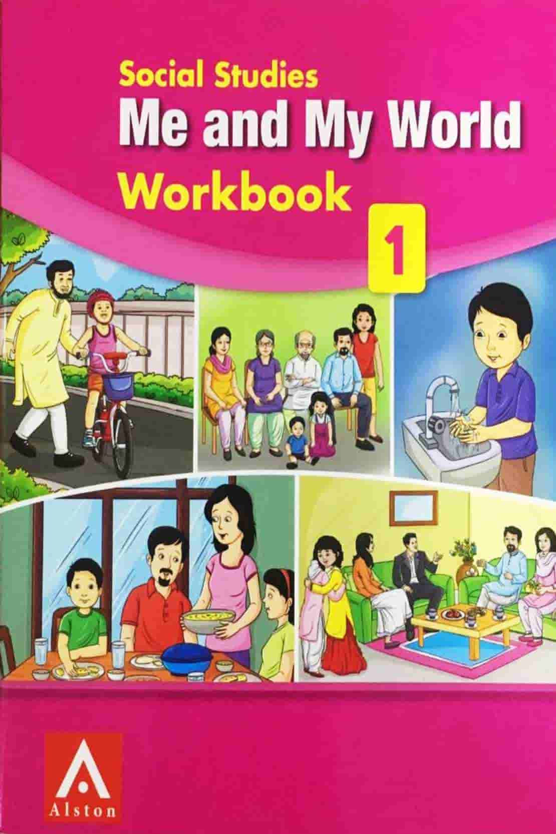 ME AND MY WORLD WORKBOOK CLASS 1
