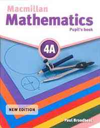 Macmillan Mathematics Pupils Book 4A